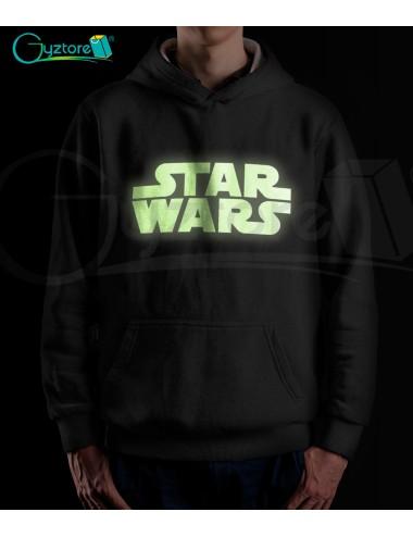 Hoddie Unisex StarWars brilla en oscuridad