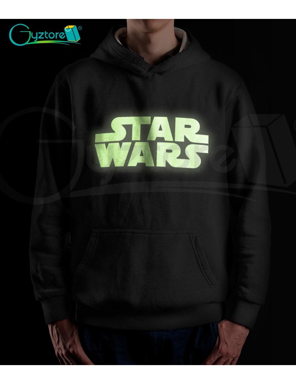 Hoddie StarWars brilla en oscuridad