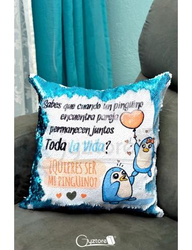 """Almohadón mágico """"Te amo hasta la Luna"""""""