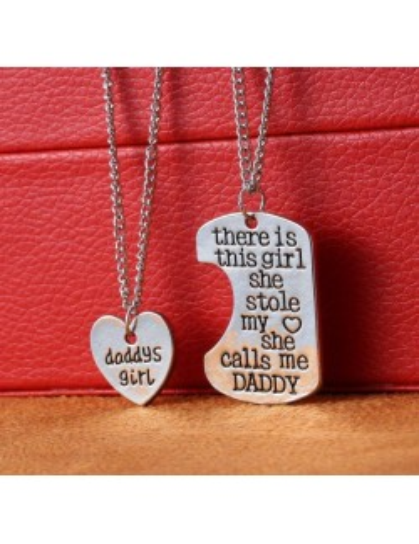 Collar Padre e Hija