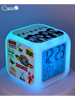 "Relojes digitales ""Friends"" con LED multicolor"
