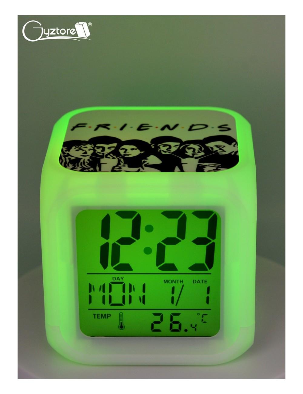 "Relojes digitales ""Friends"" con LED multicolor"