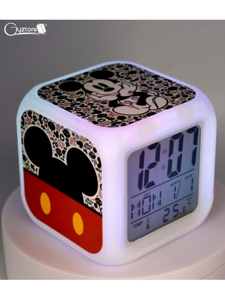"""Relojes digitales """"Mickey Mouse"""" con LED multicolor"""