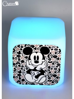 "Relojes digitales ""Mickey Mouse"" con LED multicolor"