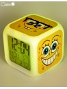 "Relojes digitales ""Bob Esponja"" con LED multicolor"