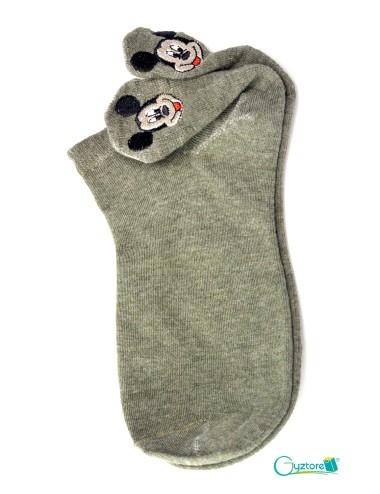 Medias diseño de Mickey en tobillo