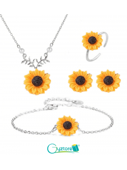 Set Girasoles Sunflowers