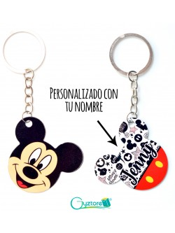 Llavero Personalizable Mickey Mouse