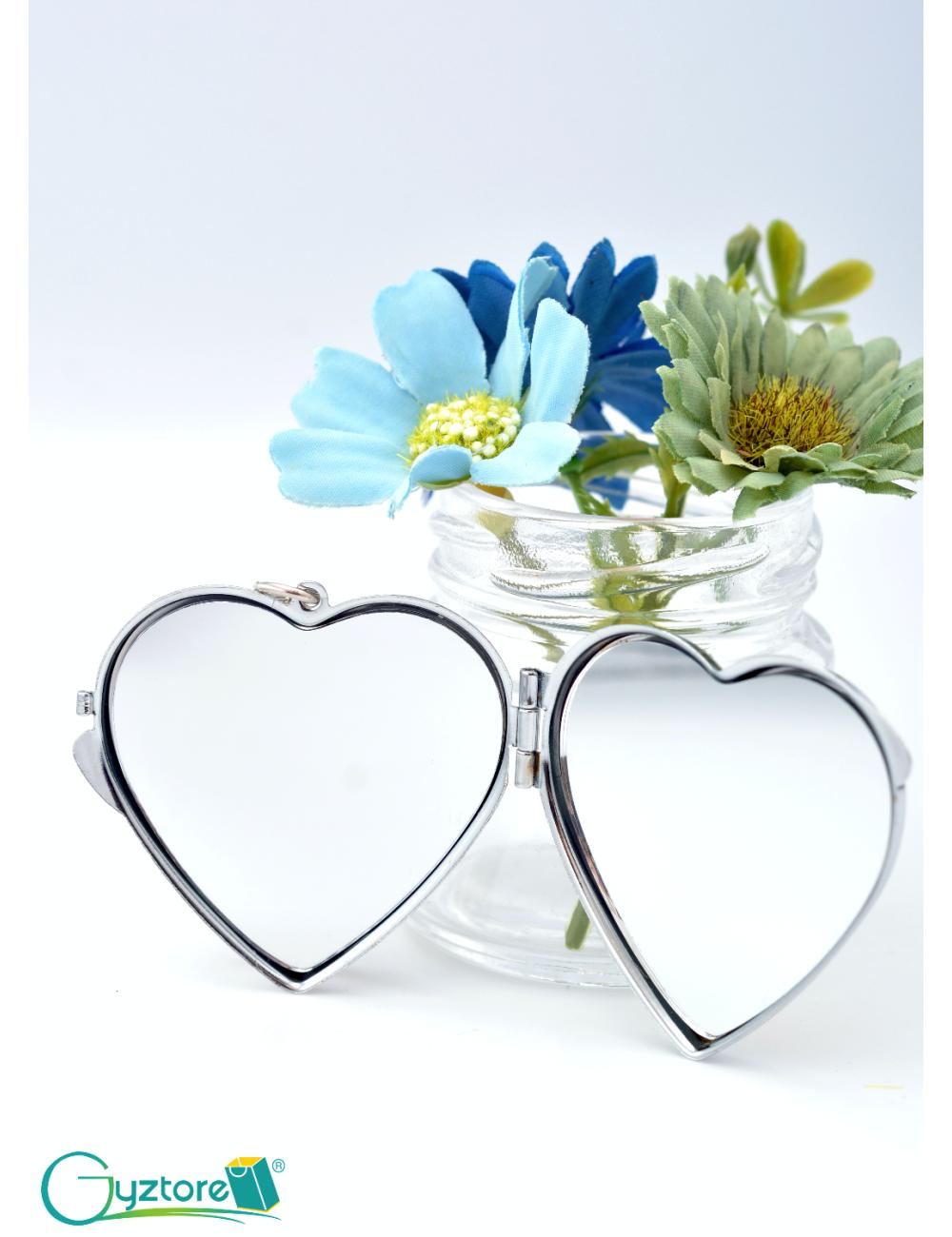Llavero con espejo personalizable