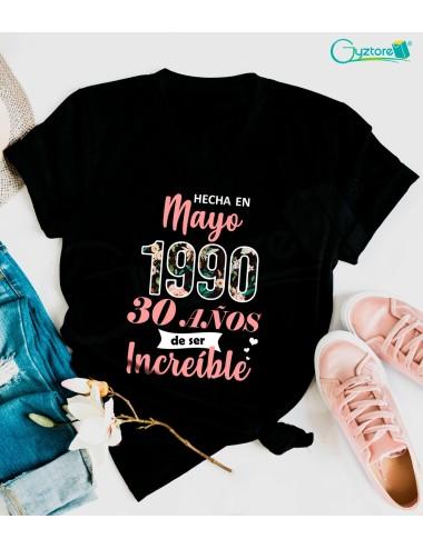 Camisetas cumpleañeras Mayo
