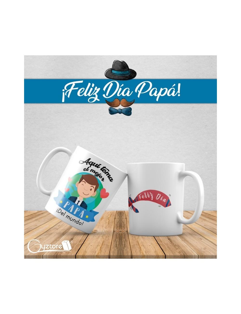 Tazas Aquí toma: estilos para papá