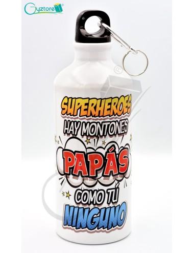"""Botellas para papás """"Te admiro y te quiero"""""""