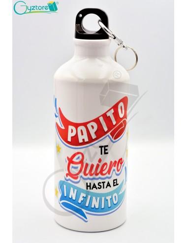 """Botellas para papás """"Te quiero hasta el infinito"""""""