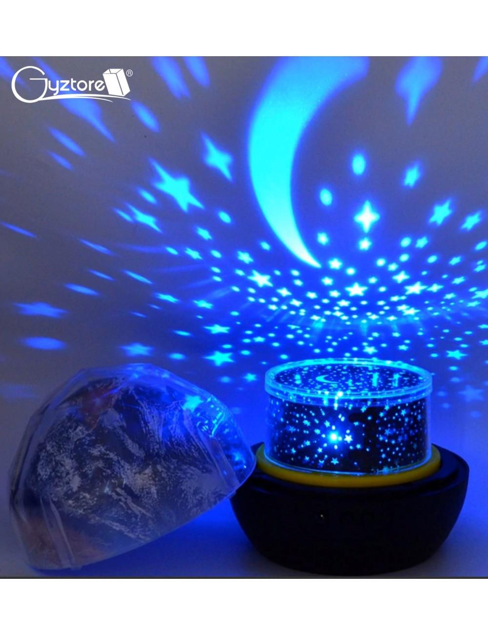 Lámpara LED con proyector