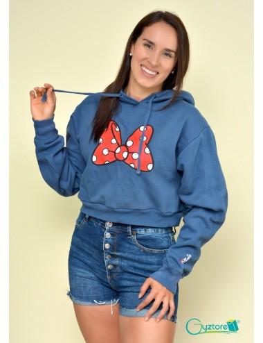 Hoodies/Abrigos cortos con gorro diseño de Minnie