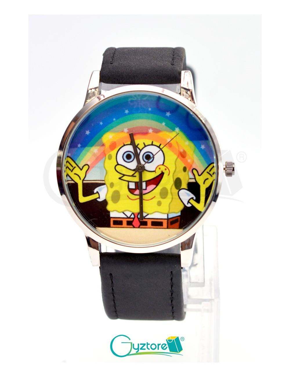Reloj diseño de Bob Esponja