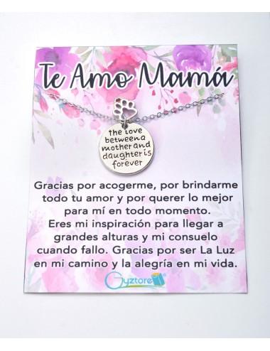 """Collar """"El amor entre Madre e Hija es para siempre"""""""