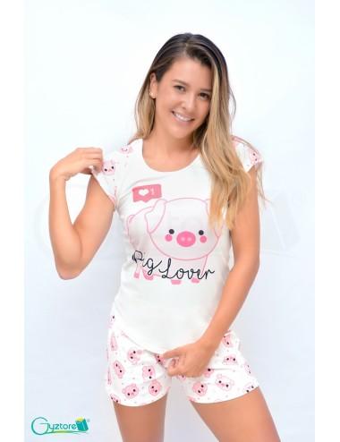 """Pijamas """"Pig Lover"""""""