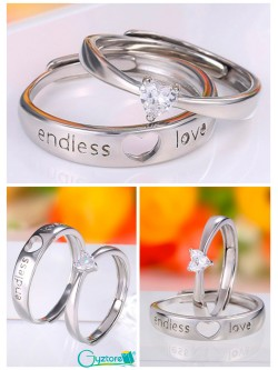 Anillo ajustable Amor Eterno