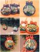 Esferas navideñas de Madera personalizables con nombre