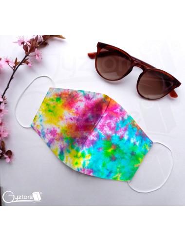 Mascarillas diseño Tie-dye