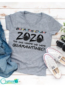 "Camisetas ""Birthday 2020"""