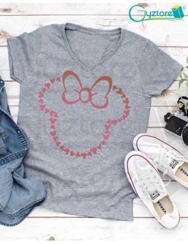 Camisetas Silueta de Minnie