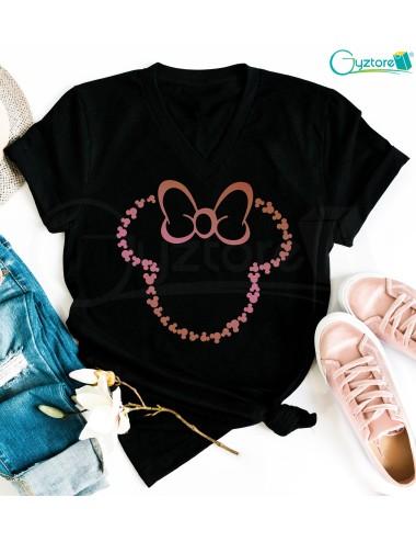 Camisetas Silueta de Mickey