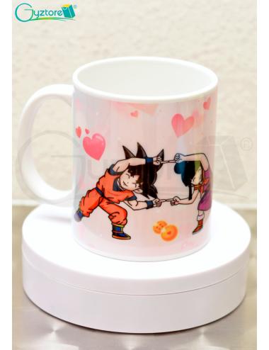 Taza para parejas Dragon Ball