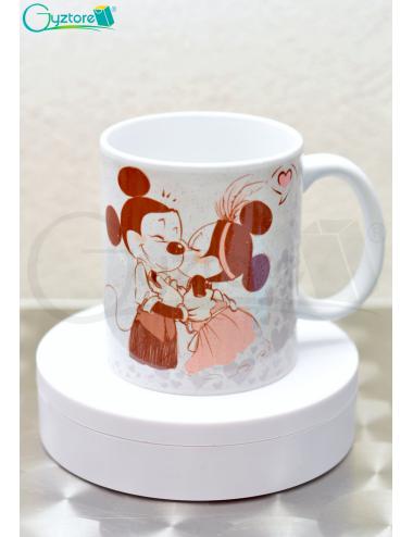 Taza Mickey Mouse escarchada para parejas