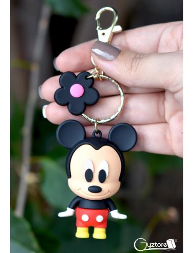 Reloj de Mickey carátula transparente