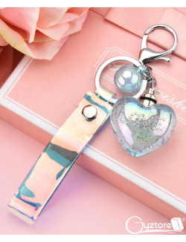 Llavero con luz diseño de Corazón