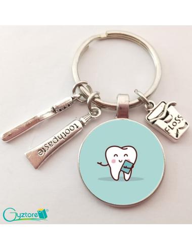 Llavero diseño de dentista