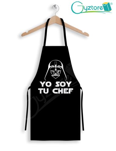 """Delantal StarWars """"Yo soy tu chef"""""""