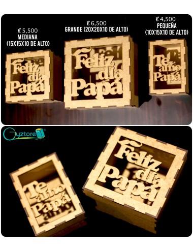 Cajas de madera para papá