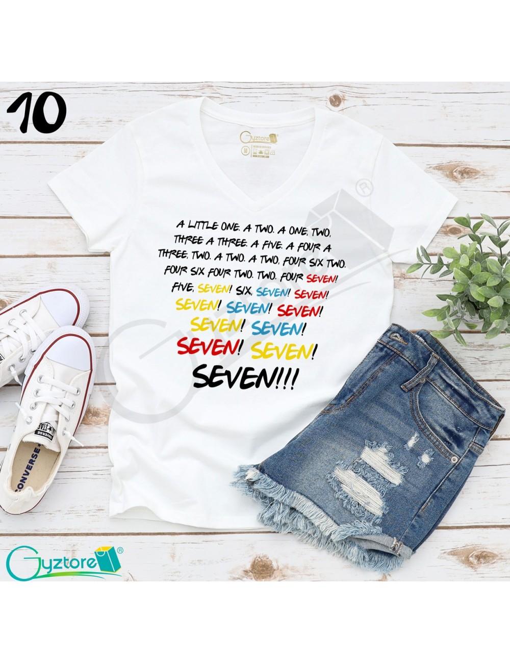 Camisetas blancas Friends