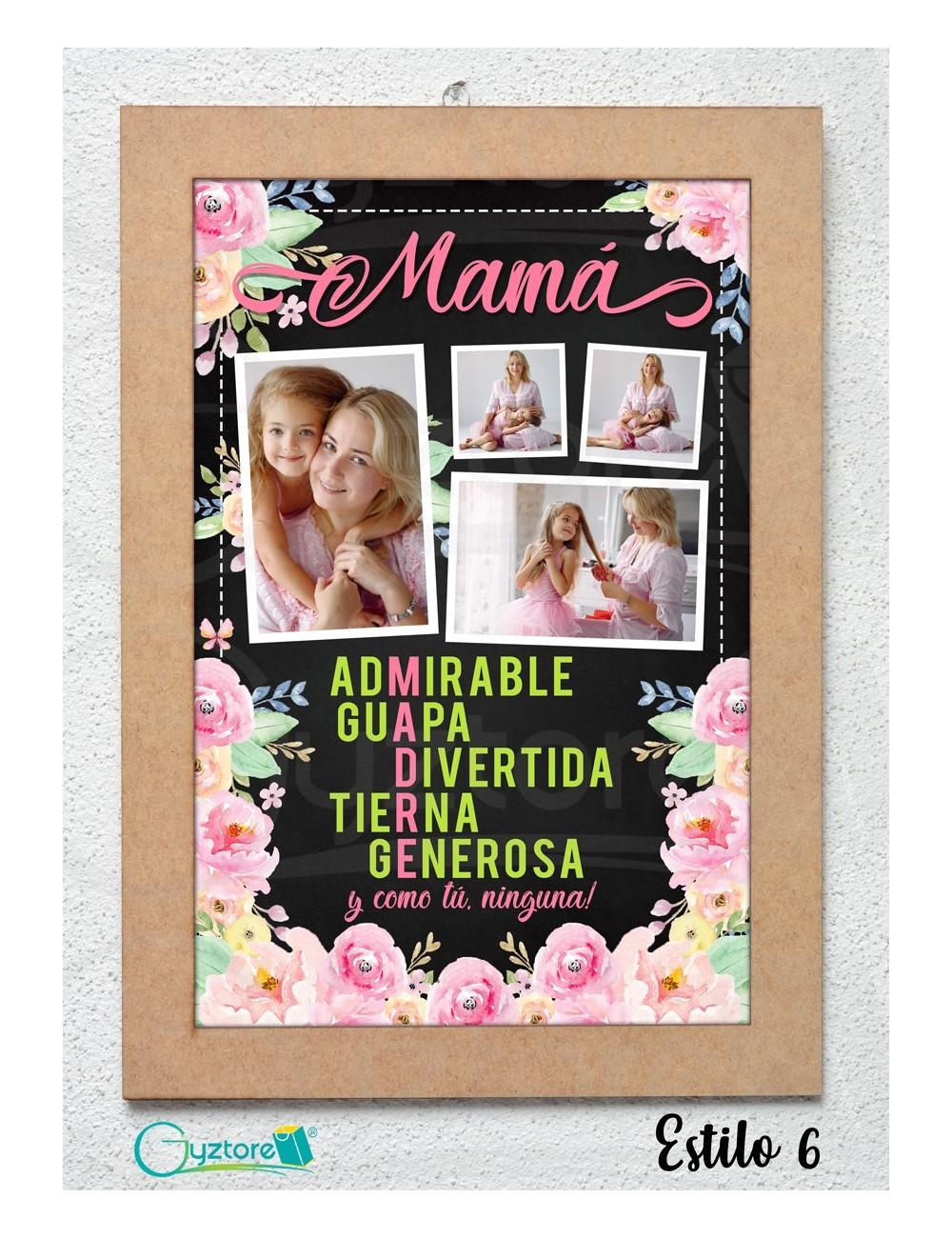 Cuadros personalizados para mamá y abuelita