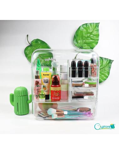 Cosmetiquera/organizador transparente