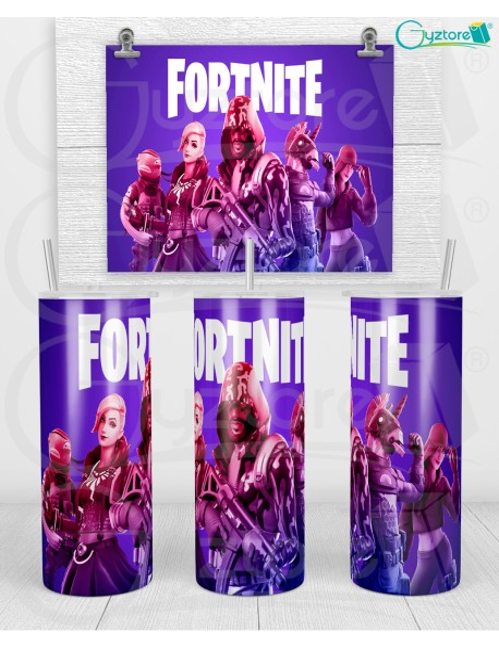 "Botella térmica ""Fortnite"""