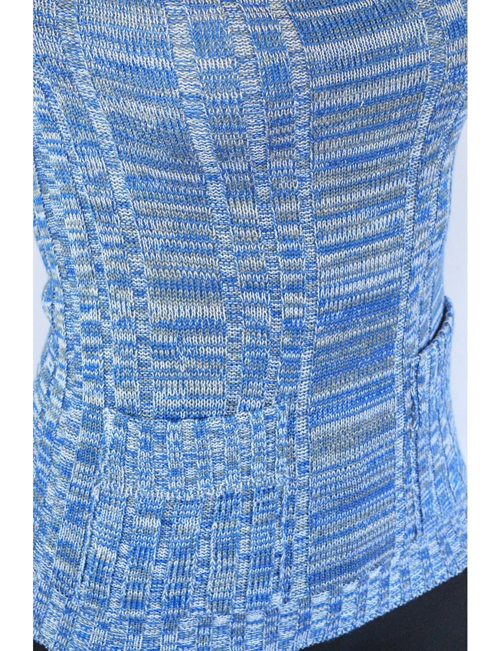 Blusa artesanal tejida a mano cuello redondo
